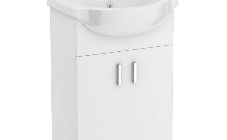 Cove White Vanity Unit Available Victorian Plumbing