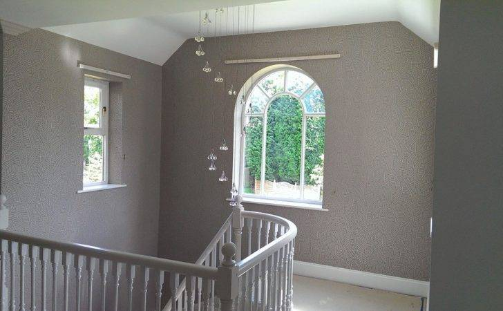 Cozy Hall Stairs Landing Colour Ideas