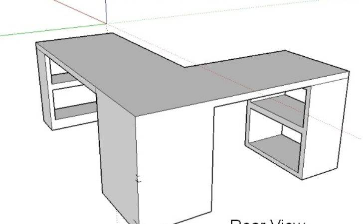 Craft Room Desk Design Take Two Ugly Duckling House