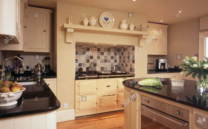 Cream Aga Oven Country Kitchen Built