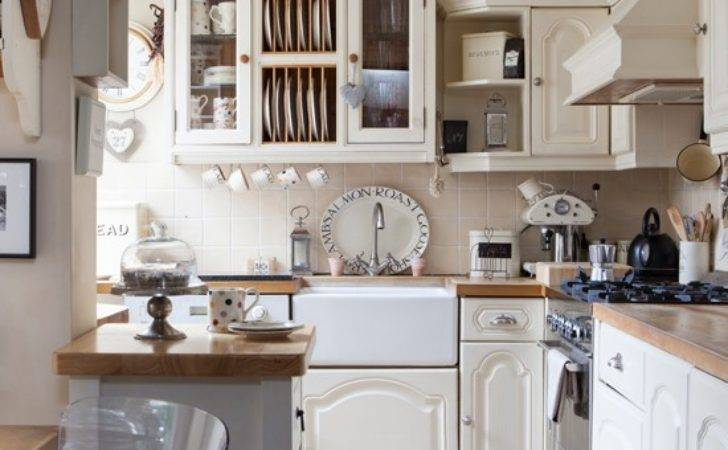 Cream Country Kitchen Traditional Decorating Ideas
