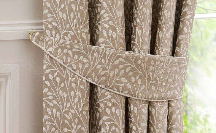 Cream Willow Lined Pencil Pleat Curtains Dunelm