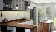 Creating Kitchen Breakfast Bar Using Solid Wood