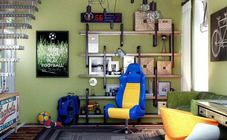 Creative Bedrooms Any Teenager Love