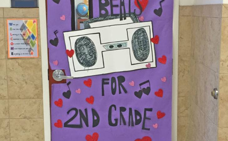 Creative Classroom Door Decorations Valentine Day