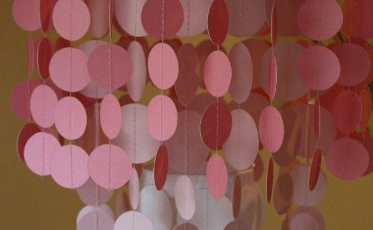 Creative Diy Chandeliers Made Out Paper