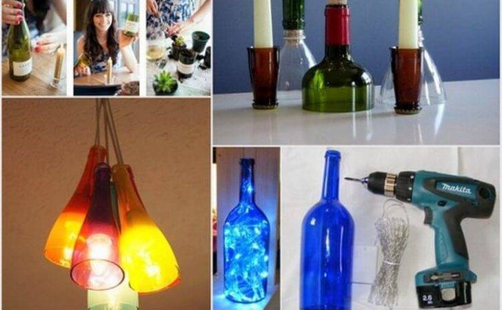 Creative Diy Recycled Wine Bottle Craft Ideas