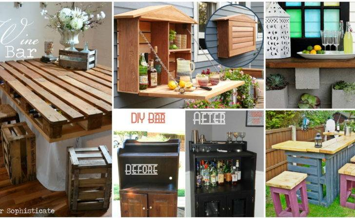 Creative Diy Wine Bars Your Home Garden