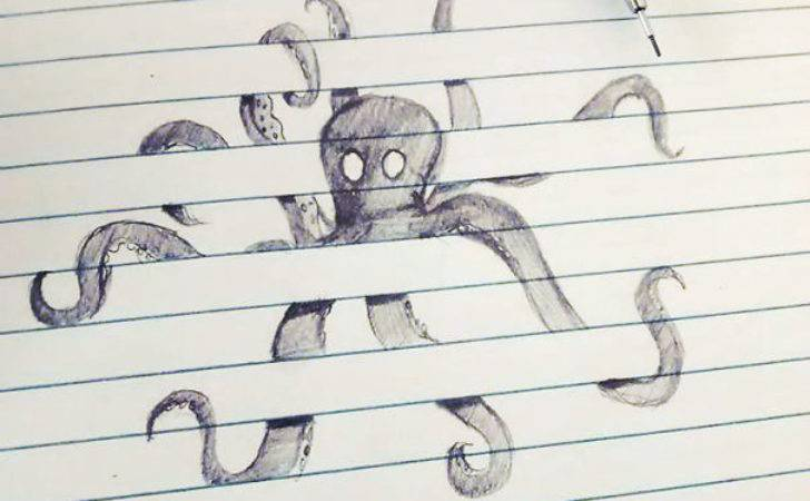 Creative Doodles Don Stay Within Lines Bored