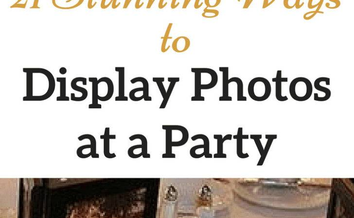 Creative Easy Ways Photos Party Decorations