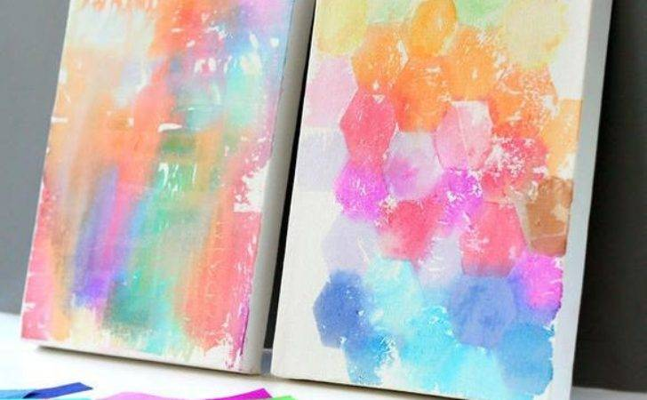 Creative Fun All Ages Easy Diy Wall Art Projects