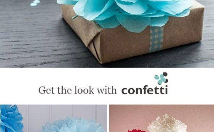 Creative Gift Wrapping Ideas Christmas Confetti