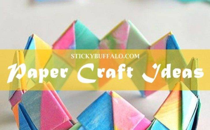 Creative Paper Crafting Craft Ideas