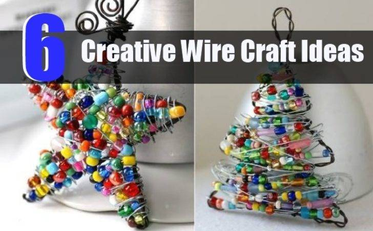 Creative Wire Craft Ideas Diy Home Life