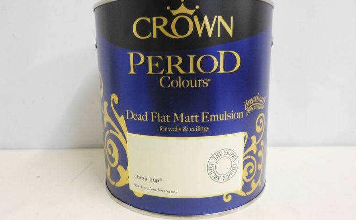 Crown Period Colors Dead Flat Matt Emulsion China Cup