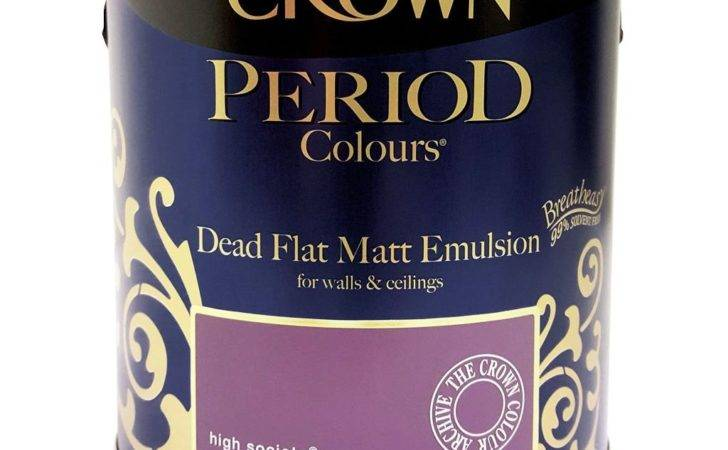 Crown Period Dead Flat Matt Emulsion Paint Breatheasy