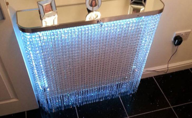 Crystal Radiator Covers Console Tables