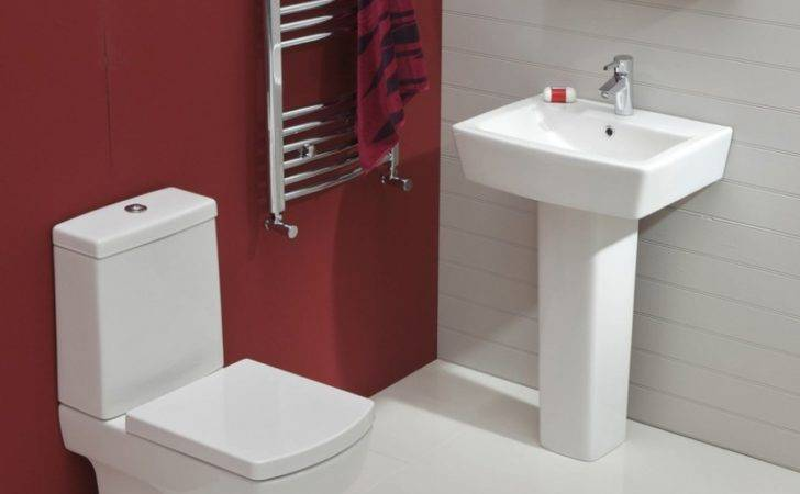 Cubo Toilet Wash Basin Set