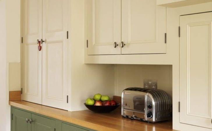 Cupboards Step Inside Traditional Muted Green