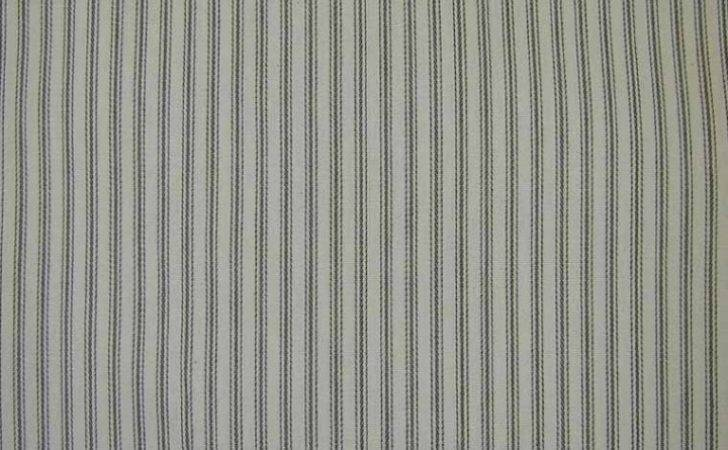 Curtain Upholstery Fabric Extra Wide Ticking Black