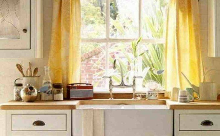 Curtains Kitchen Simple Curtain Ideas