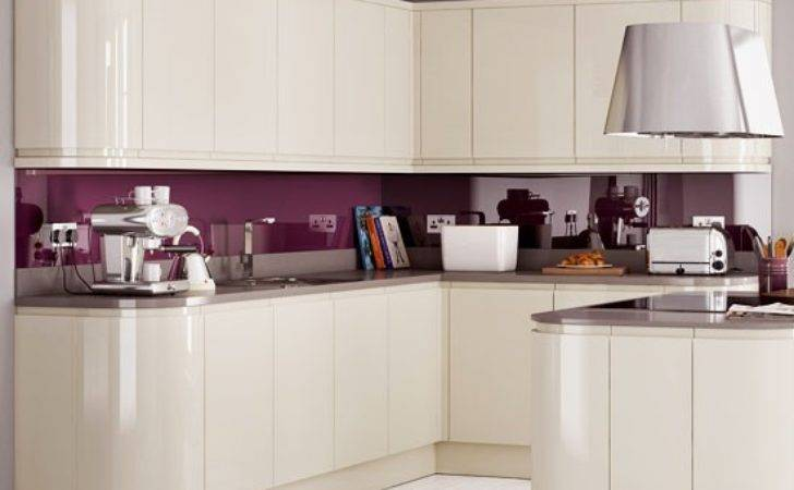 Curved Units Mereway Kitchen Cupboard Doors Without