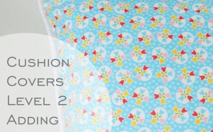 Cushion Cover Piping Zip Sewing Tutorial