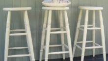 Custom Height Stools Hand Painted Any Colour Rectory