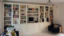 Custom Made Living Rooms Display Media Units