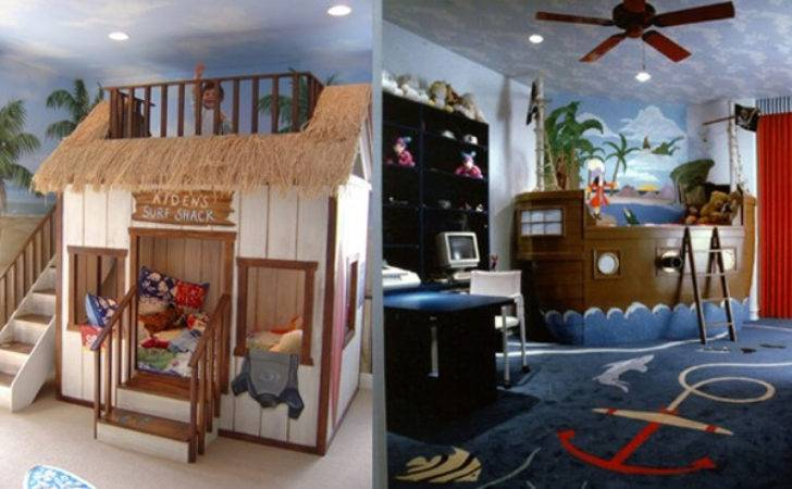Cute Cool Kids Bedroom Theme Ideas Home Design