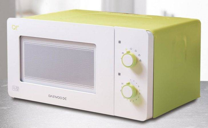 Daewoo Compact Microwave Oven Camping