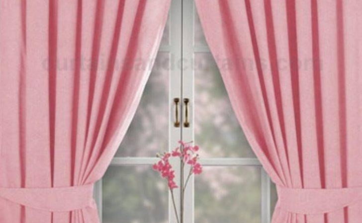 Dark Pink Curtains Blinds