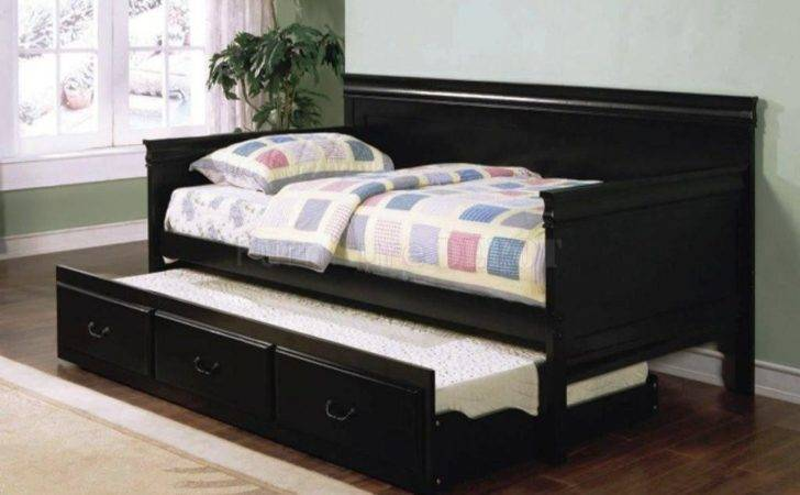 Daybed Trundle Ikea Multiple Purpose Furniture Homesfeed