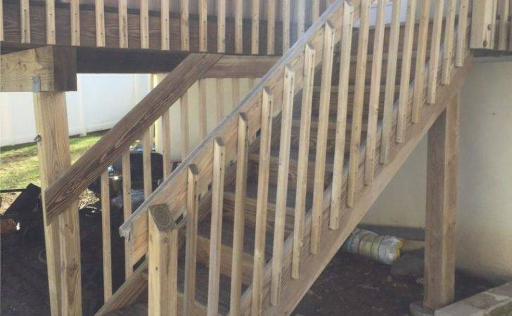 Deck Stair Stabilization Replacement Monk Home