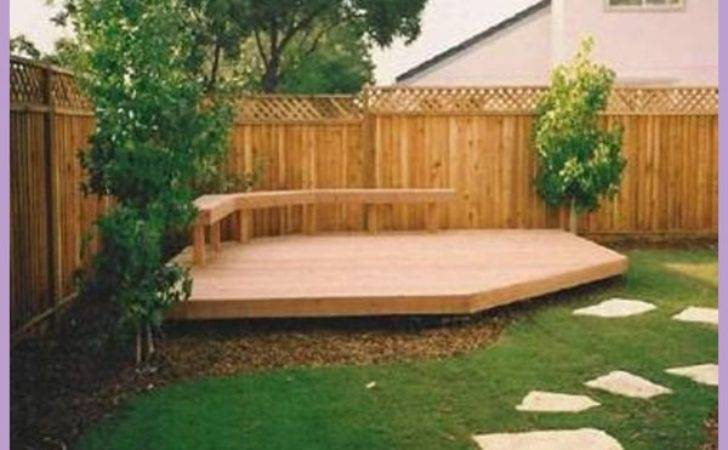 Decking Design Ideas Small Gardens Homedesigns