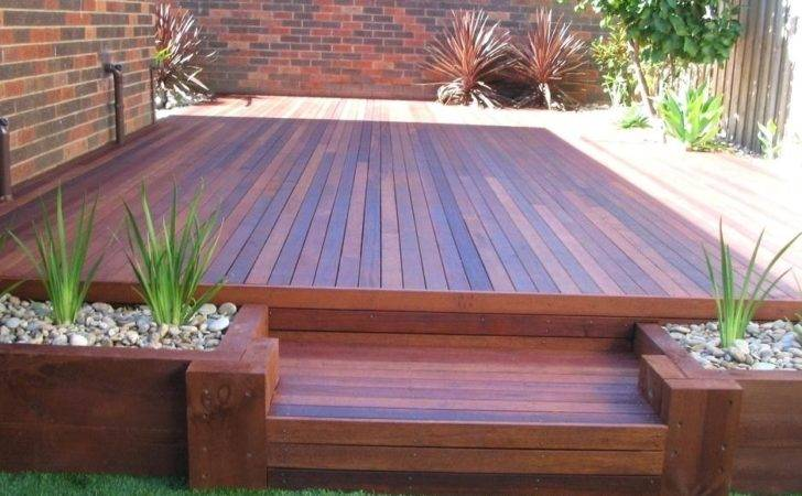 Decking Designs Small Gardens Landscaping Deck Design