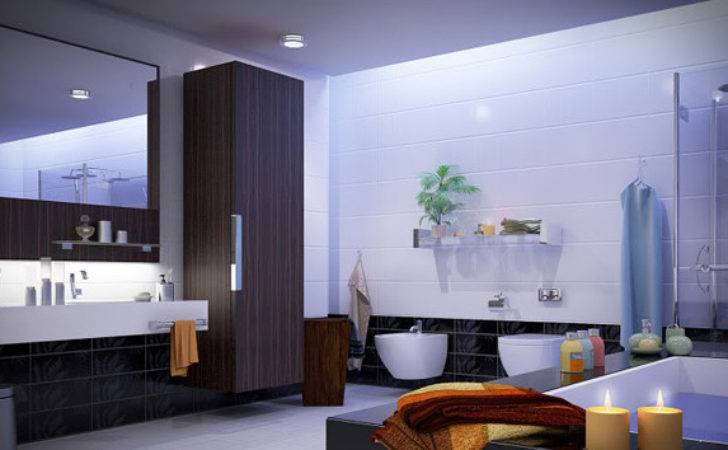 Decorate Large Bathroom Better Function