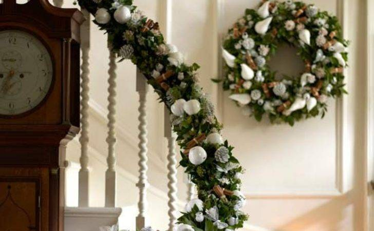 Decorate Your Banister Essential Christmas Decorations