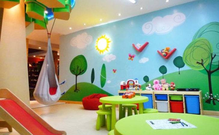 Decorate Your Kids Playroom Budget