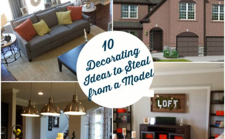 Decorating Ideas Spotted Model Home Hooked Houses