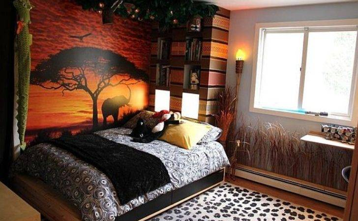 Decorating Modern Safari Theme