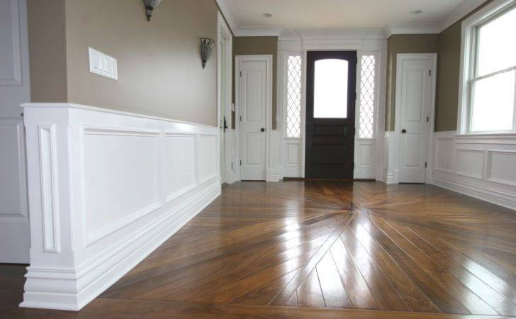Decoration Bautiful Entryway Wood Flooring Paint
