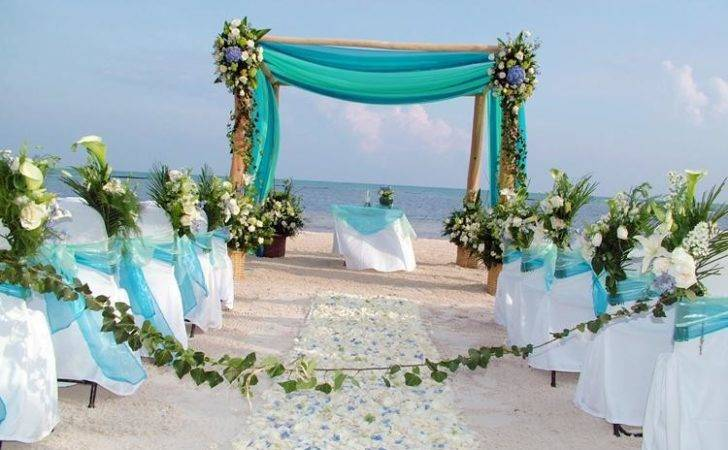 Decoration Ideas Beach Wedding Weddingelation