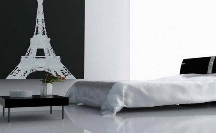 Decoration Modern Paris Themed Room Cor
