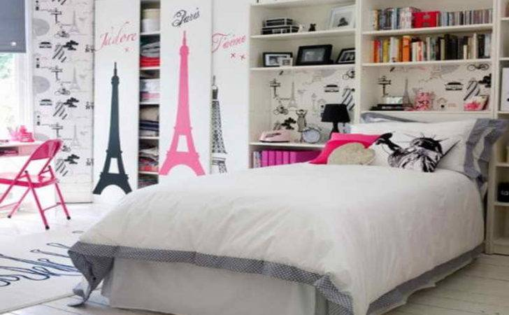 Decoration Paris Themed Room Cor Bedroom
