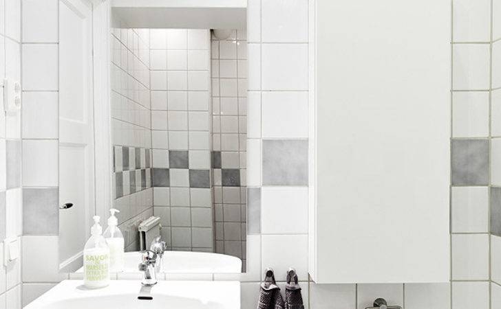 Decordots White Grey Bathroom