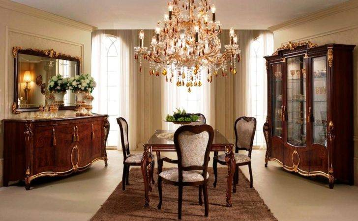 Design Dining Room Classic Style
