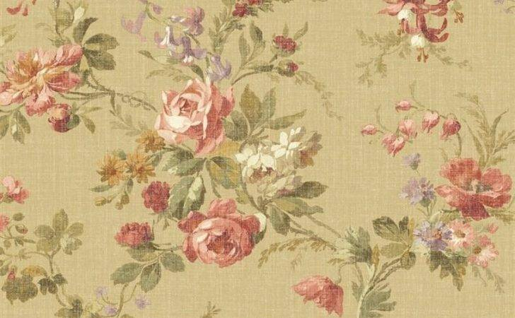 Designer French Country Cottage Floral Roses