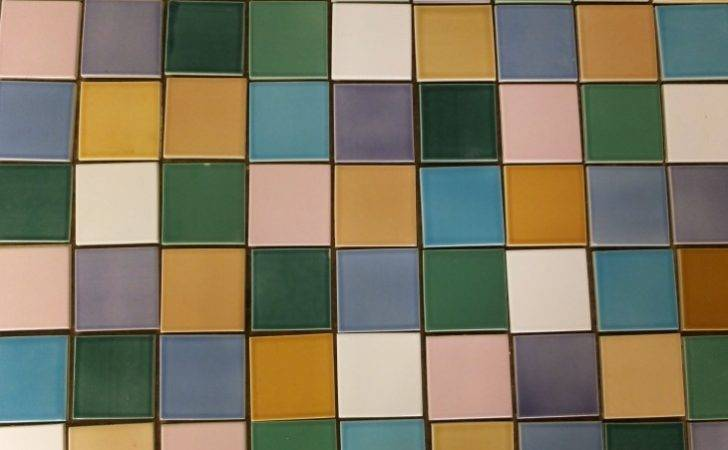 Designing Multi Colored Tile Wall