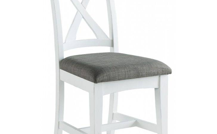 Destiny Off White Painted Furniture Set Six Dining
